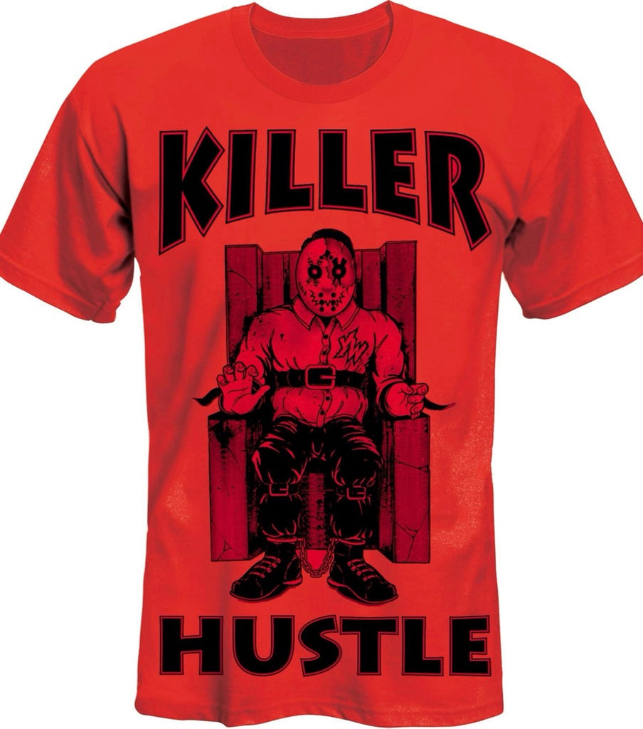 "Killer Hustle Inc.- Red Killer Hustle × Young Wicked ""Tha Row"" Limited Edition T-Shirt"