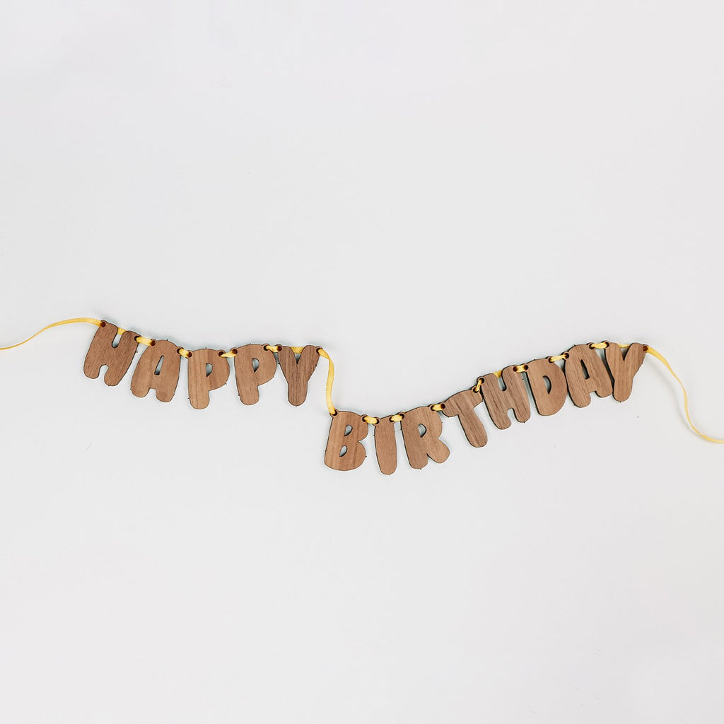 Mini Birthday Banner
