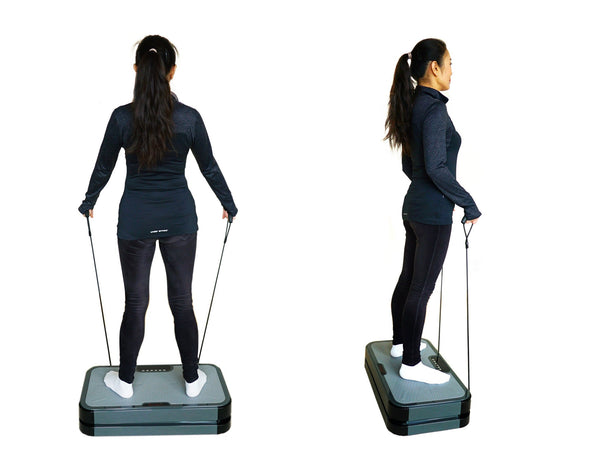 VT020-3 Full Body Vibration Platform Fitness Machine - Pivotal Oscillation 5-15Hz