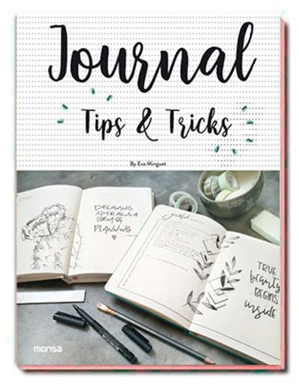Libro Journal, tips & tricks blog tiendamerceria