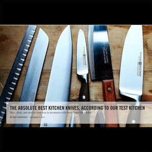 Saveur - The Best Kitchen Knives