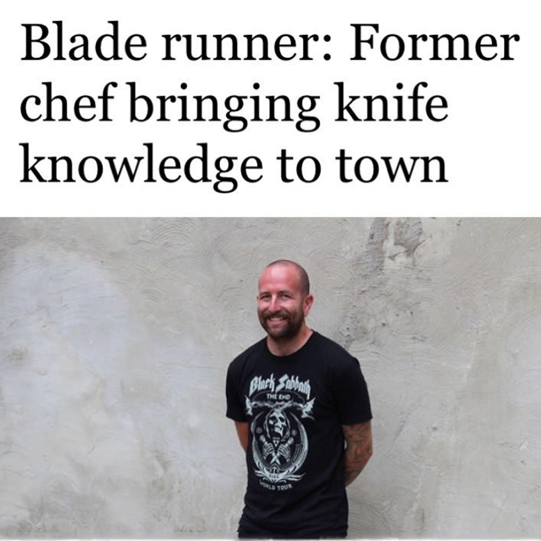 Chicago Tribune - Blade runner: Former chef bringing knife knowledge to town