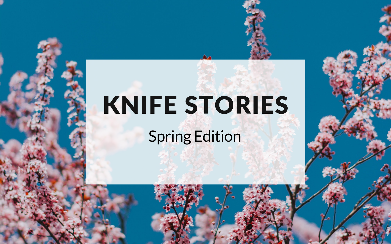 Knife Stories Spring Edition
