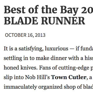 Bay Guardian - Best of the Bay 2013: BEST BLADE RUNNER