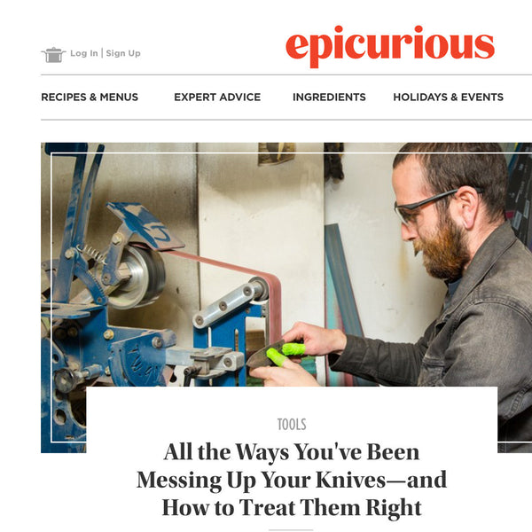 Epicurious - All the Ways You've Been Messing Up Your Knives
