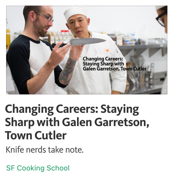 Medium - Changing Careers: Staying Sharp with Garretson, Town Cutler