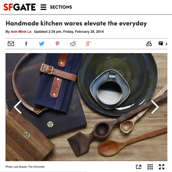 San Francisco Chronicle - Handmade Kitchen Wares Elevate the Everyday