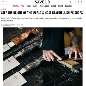 Saveur - STEP INSIDE ONE OF THE WORLD'S MOST BEAUTIFUL KNIFE SHOPS