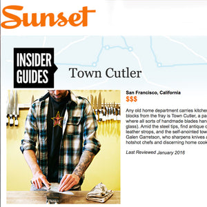 Sunset Magazine - Insider Guides: Town Cutler