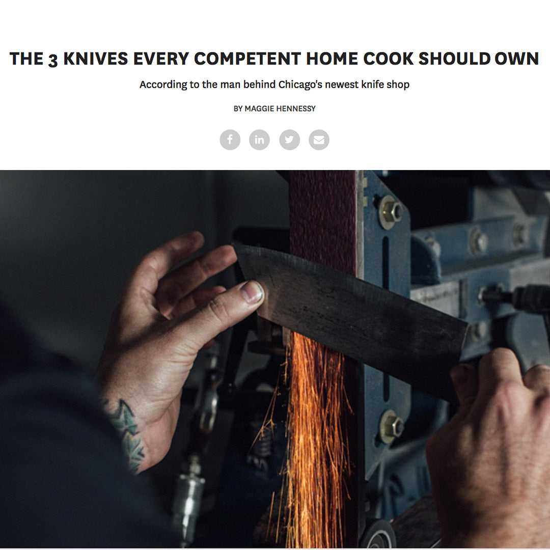 Inside Hook  - The 3 Knives Every Competent Home Cook Should Own