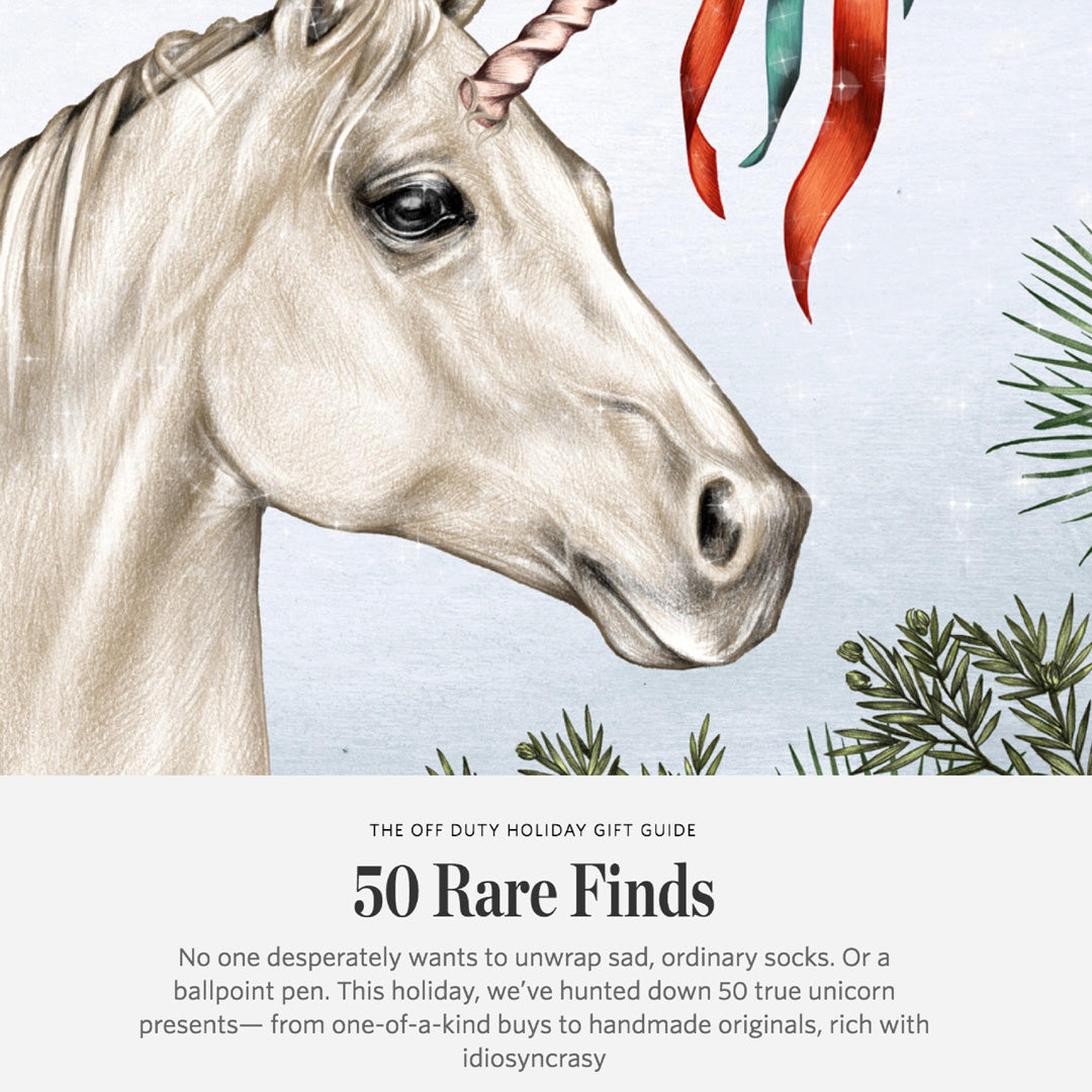 The Wall Street Journal - The Off Duty Holiday Gift Guide: 50 Rare Finds