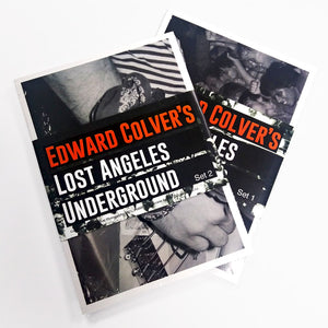 EDWARD COLVER LOST ANGELES POSTCARD SET 2