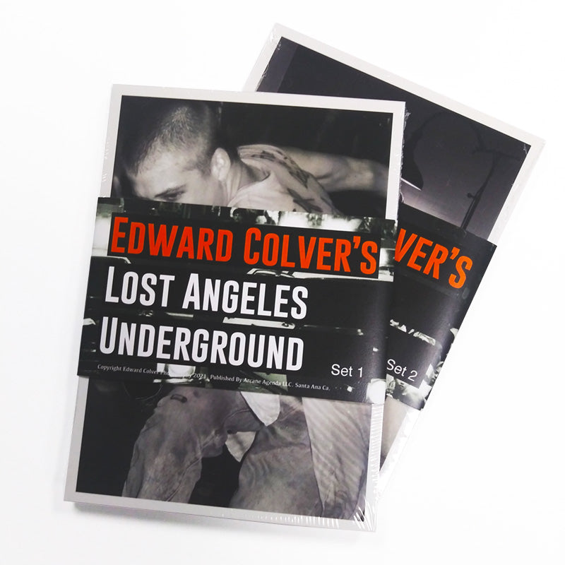 EDWARD COLVER LOST ANGELES POSTCARD SET 1