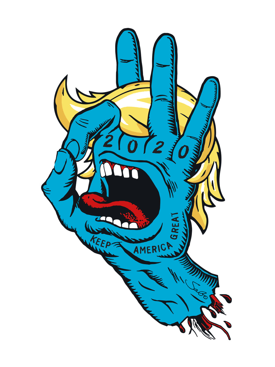 Sabo Screaming Hand Parody Timed Edition