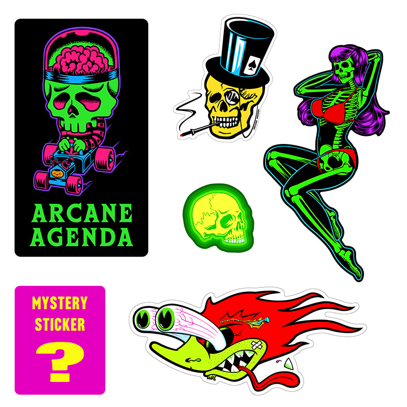 Trick or Treat Sticker Mystery Pack #1