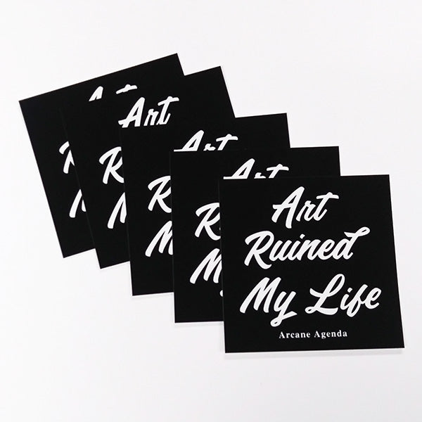 Art Ruined My Life 5 Pack