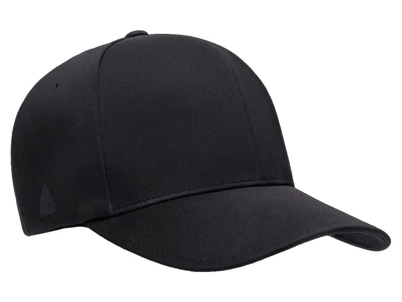 Flexfit 180 Delta Seamless Fitted Hat in Black