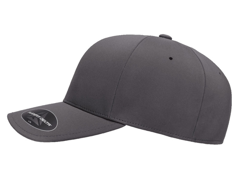 Flexfit 180 Delta Seamless Fitted Hat in Grey