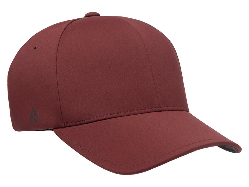 Flexfit 180 Delta Seamless Fitted Hat in Maroon