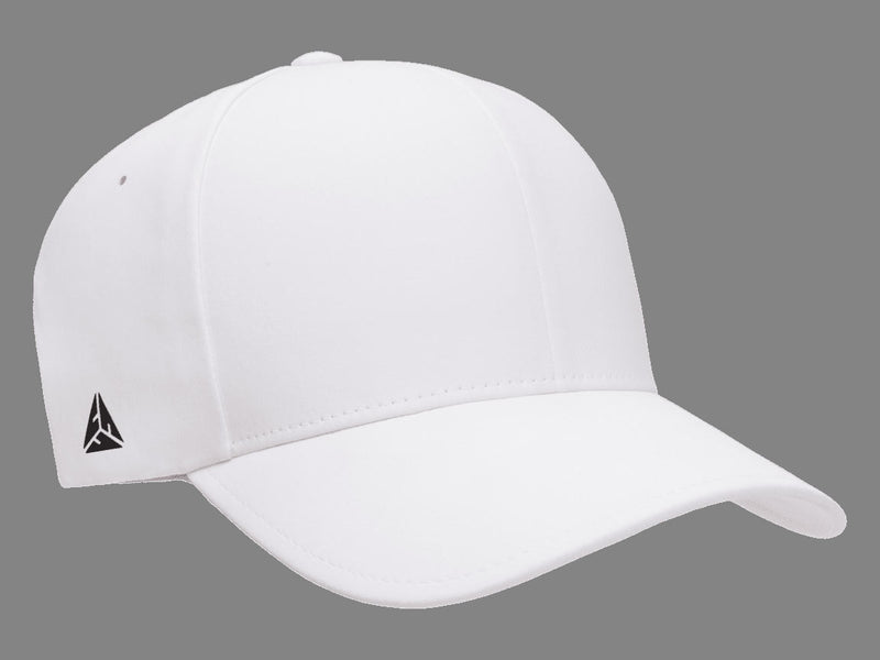 Flexfit 180 Delta Seamless Fitted Golf Hat in White