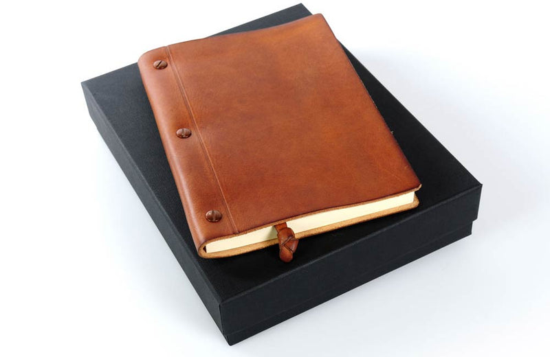 Soft Leather Notebook with Gift Box