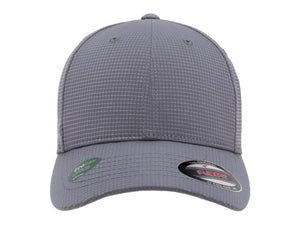 Flexfit 6587 Hydro Grid Hat in Grey