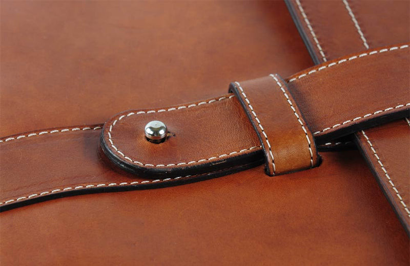 Soft Leather Document Notebook with Gift Box