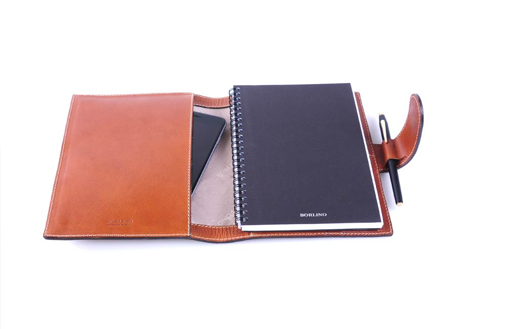 Handmade Embossed Corporate Executive Gifts with Tablet Sleeve