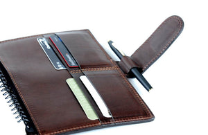 Leather Business Card Holder Padfolios