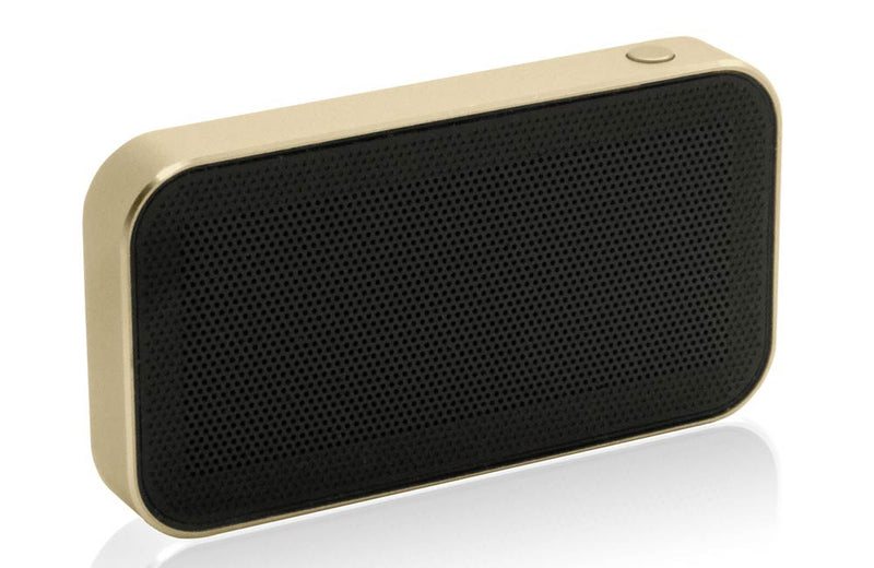 Gold and Brown NANO Bluetooth Speaker