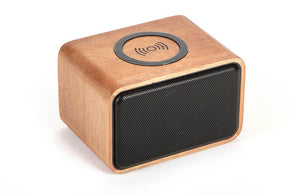 Wood Bluetooth Charger Speaker