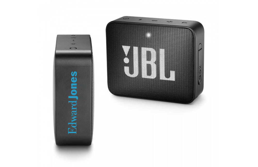 Water Resistant Small Bluetooth Radio with Pad Printed Company Logo