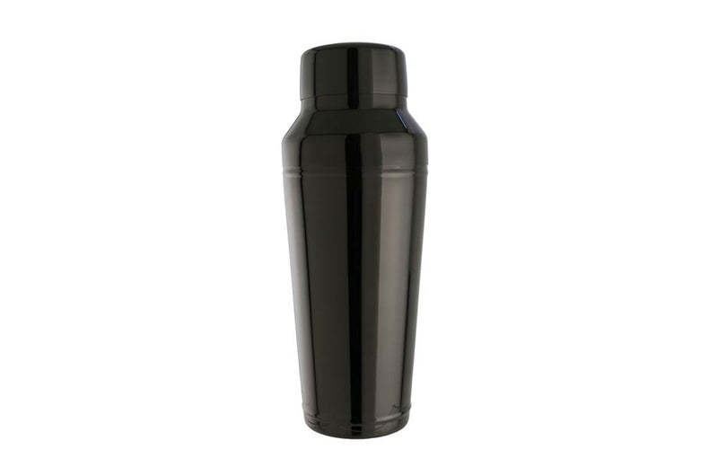 Black Steel Cocktail Shaker