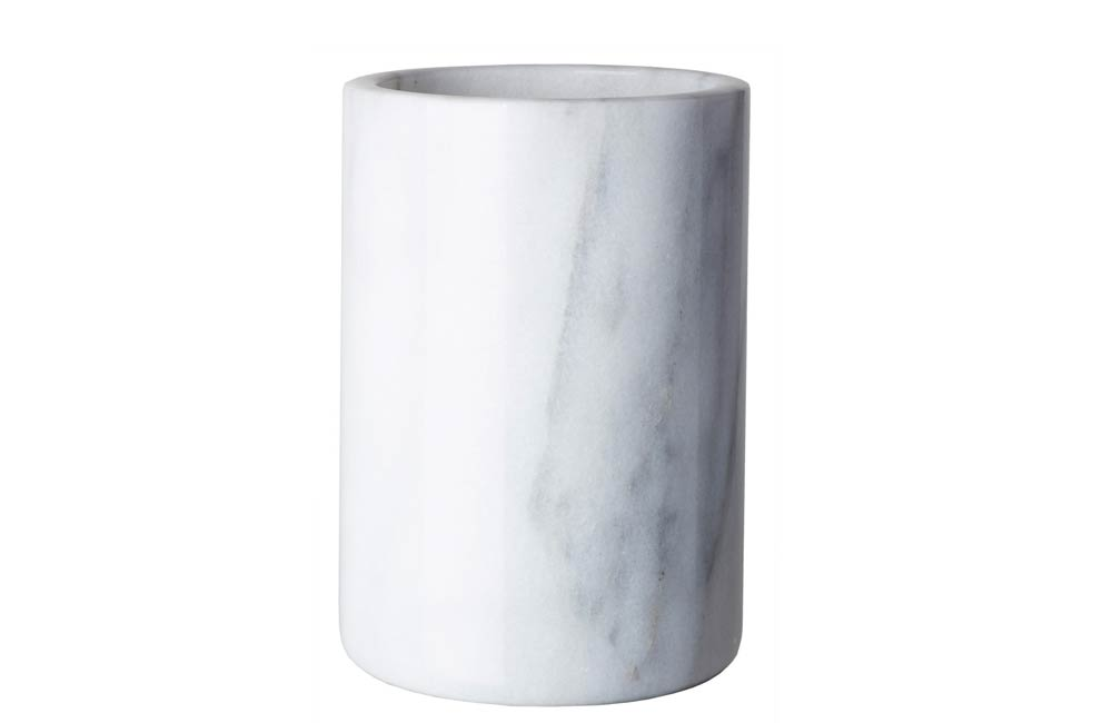 White Marble Stone Wine Coolers