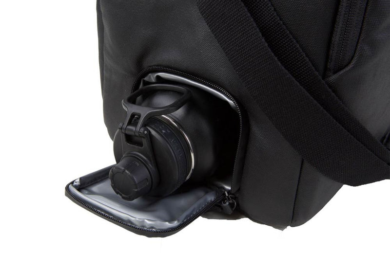 Workout Bag with Bottle Holder Compartment