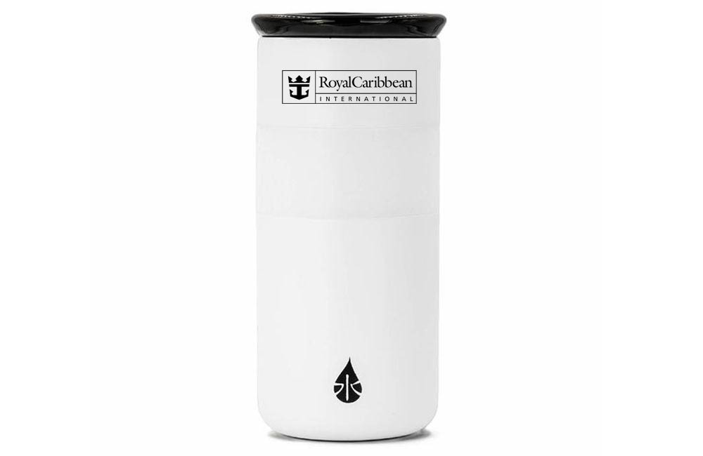 White Tumbler Custom Company Logo Executive Gift
