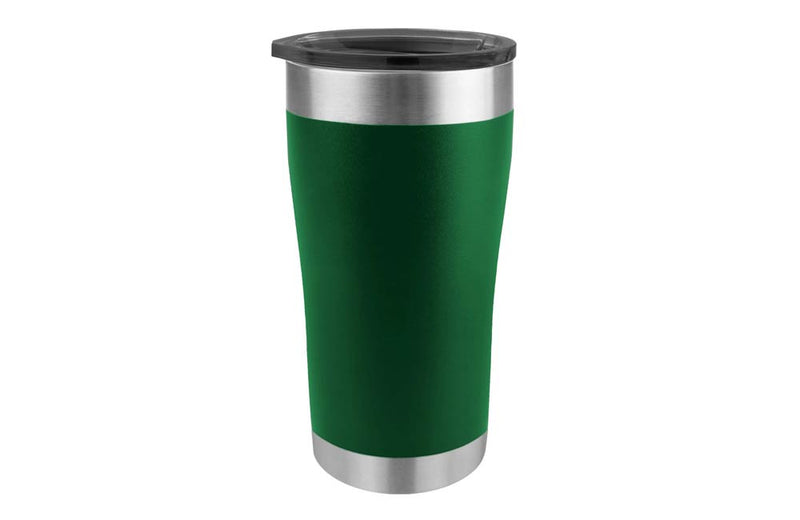Dark Forest Green Camping Cup