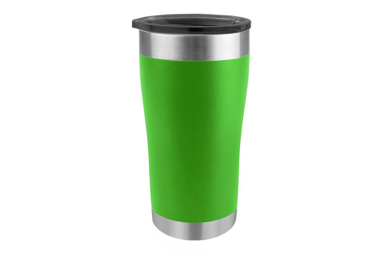 Lime Green Stainless Steel Coffee Tumbler