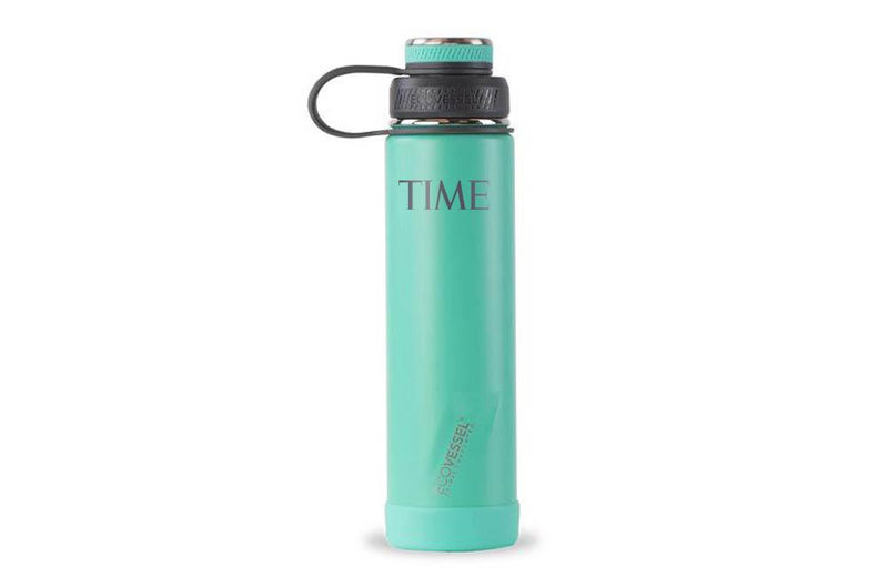 Insulated water bottle from EcoVessel with Company Logo Imprint