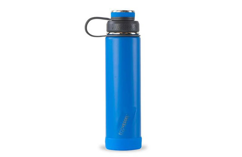 Blue Insulated Corporate Gift Sport Bottle