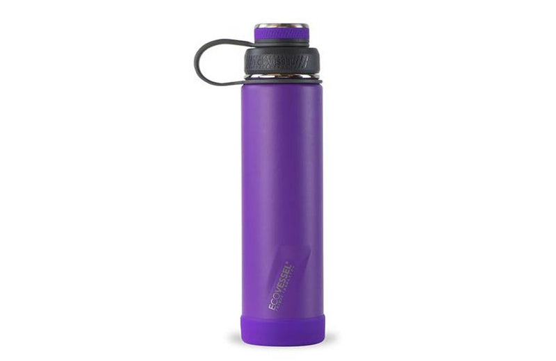 Purple Executive Silicone Travel Bottle