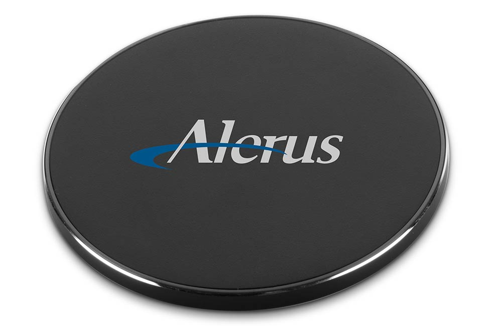 Black Fast & Thin Wireless 10W Charging Pad