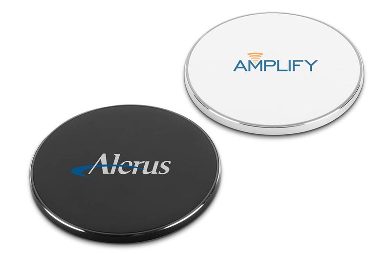 Black and White Corporate Promotion Wireless Chargers