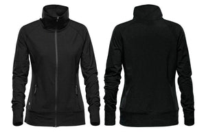 Black Thermal Jacket for Women