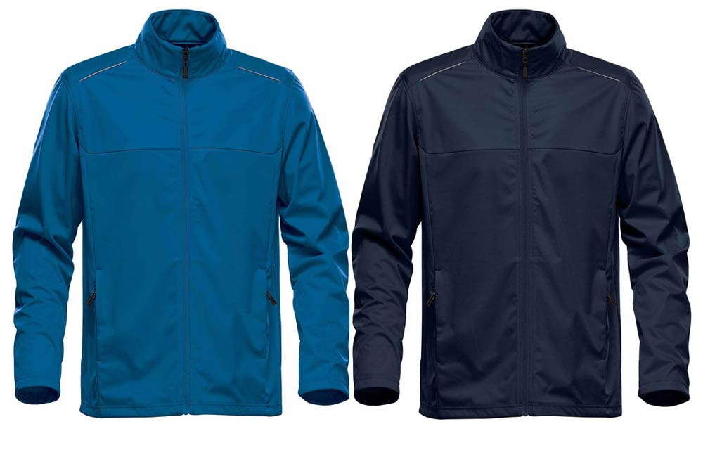 Blue and Navy Water Resistant Jackets