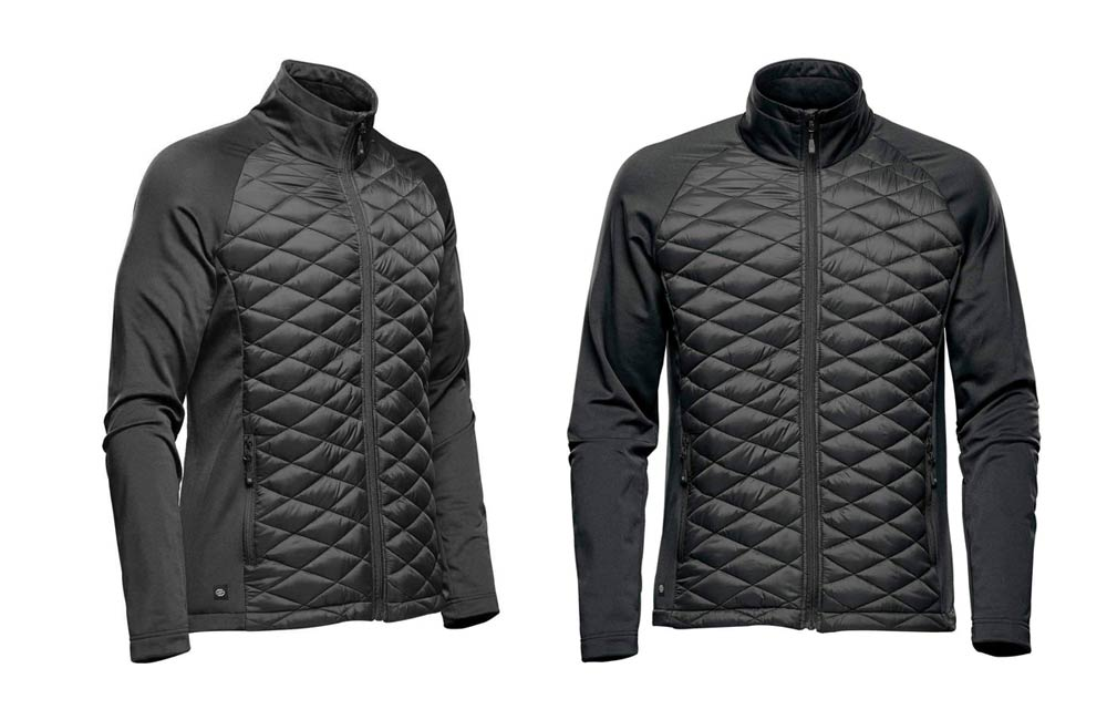 Black Men's Boulder Thermal Shell Jacket