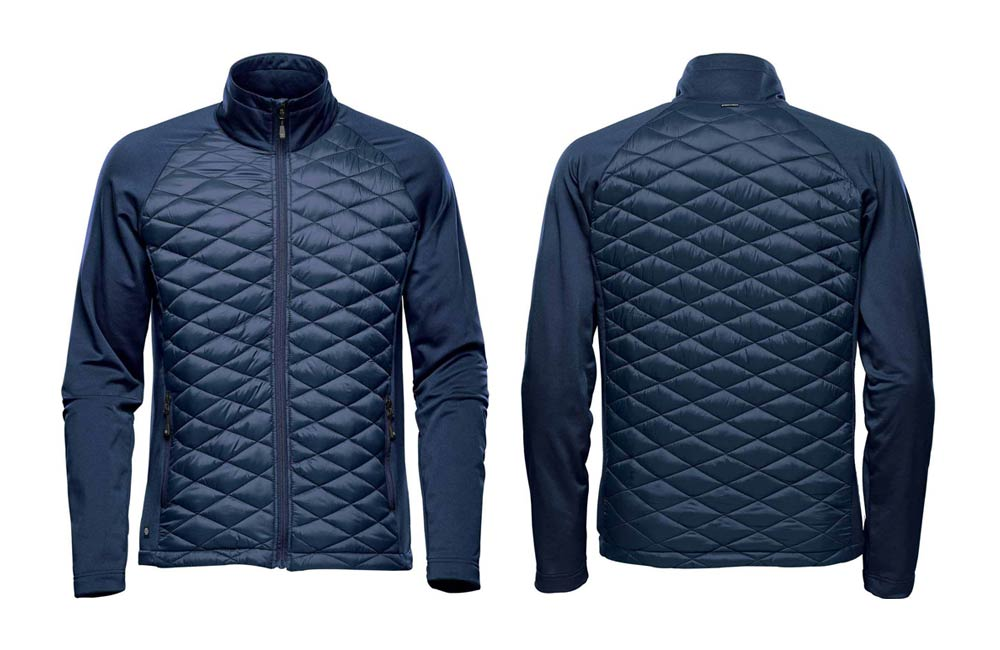Navy Blue Men's Boulder Thermal Shell Jacket