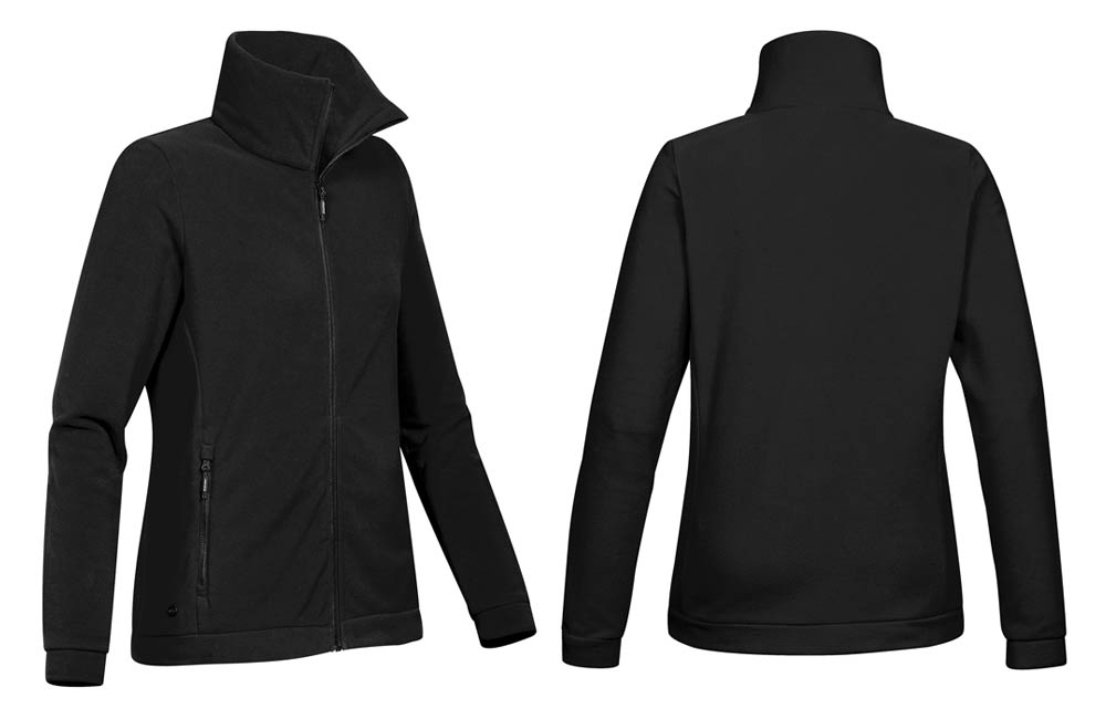 Woman's Nitro Microfleece Jacket in Black
