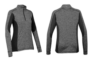 Women's Lotus 1/4 Zip Yoga Top