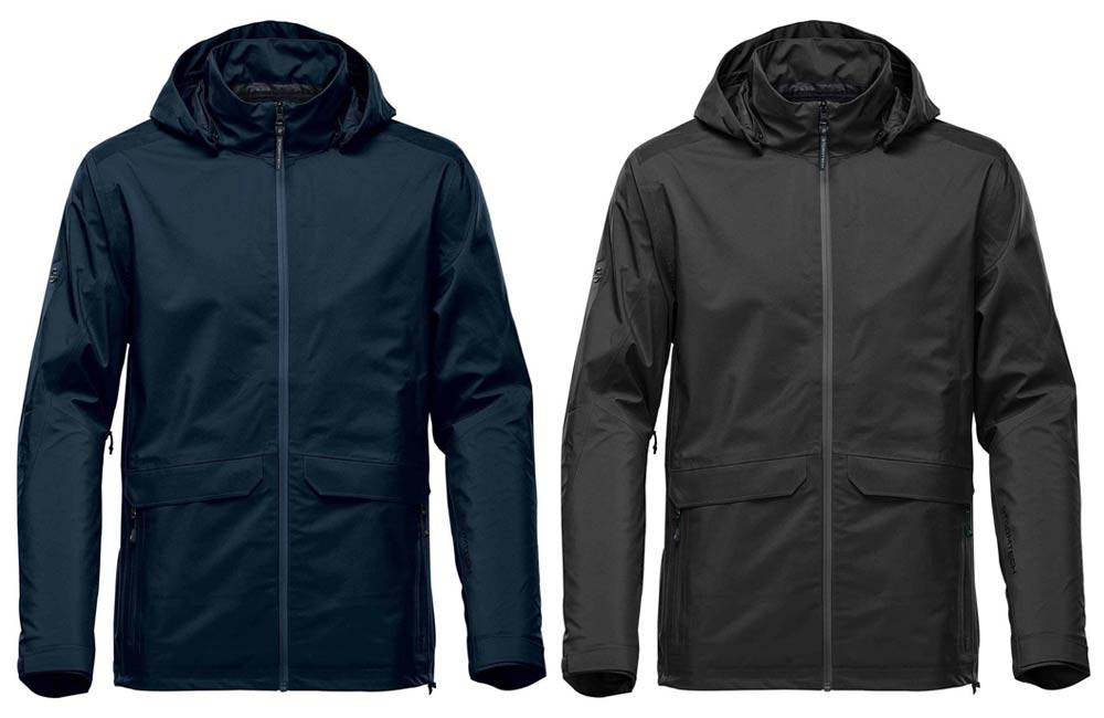 Zippered Hood Waterproof Jackets